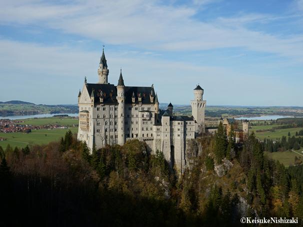 ノイシュヴァンシュタイン城は、ドイツで最も人気のある古城のひとつ。